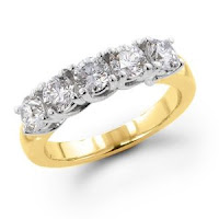 Five Stone Diamond Wedding