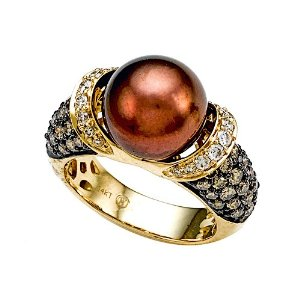 South Sea Chocolate Pearl Ring