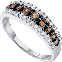 Diamonds Wedding Anniversary Ring Band