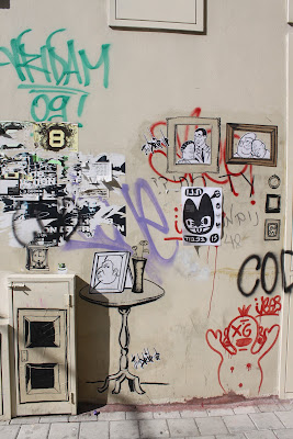Street Art Blog - Tel Aviv living room