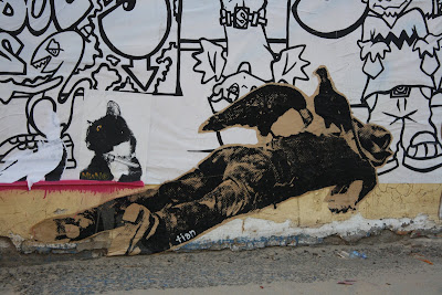 Street Art - Blog - Dead man