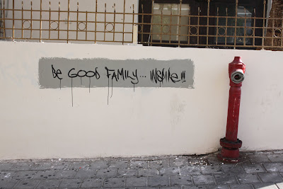 Graffiti Be good Family by Inspire