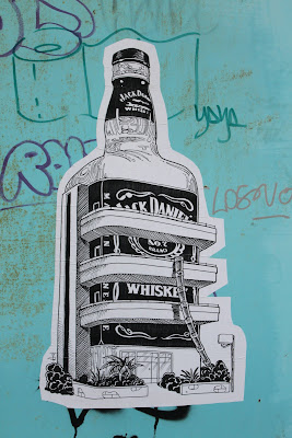 Street Art Blog - Whiskey Poster