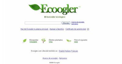 Um Buscador Ecologicamente Correto - o Ecoogler