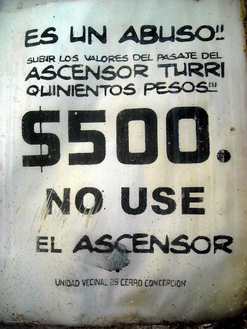Anónimo, Cerro Concepción