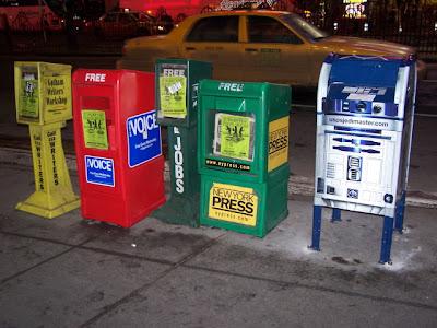 R2D2 mailbox @ Times Square (Março 2007)