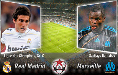REAL MADRID MARSEILLE STREAMING