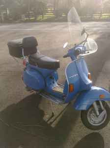 Vintage Vespa 1981 Vespa P200 For 1 721 In Medford Oregon