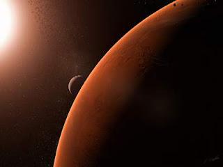 planet mars, planet merah, permukaan mars, tata surya