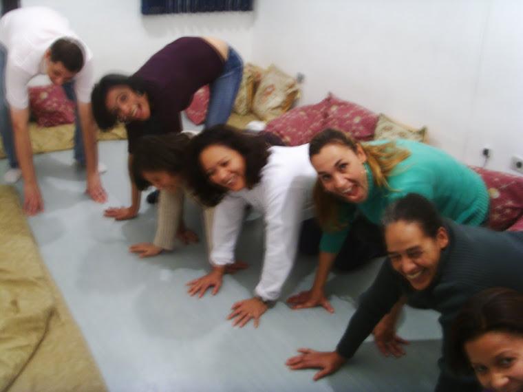 foto de alunas da clinica