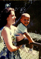 Barack and his Mom