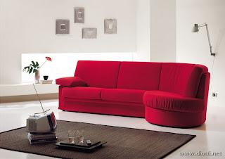 Consigli per la casa e l 39 arredamento imbiancare casa for Divano rosso abbinamenti