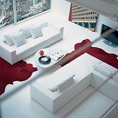 Divano di colore bianco : anche i divani rivestiti con questo colore ...