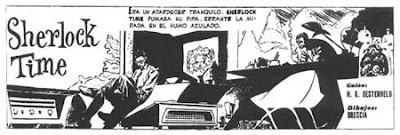 Alberto Breccia - Sherlock Time