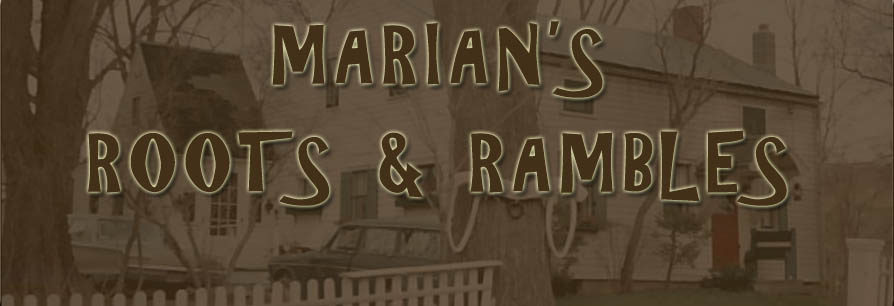 Marian's Roots and Rambles
