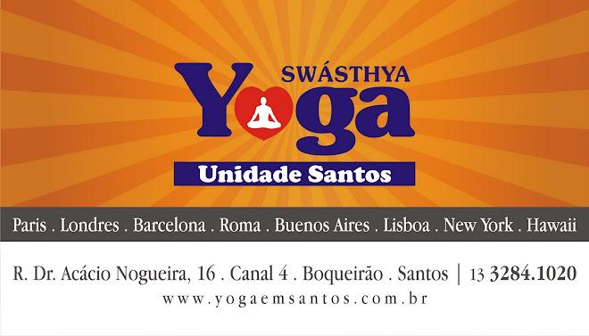SwáSthya Yôga em Santos