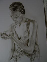 tekening De schelp