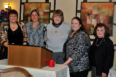 Some Magic Hour Writers at the Write-On Hoosiers Christmas banquet December 1, 2010.