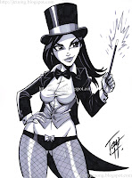 Zatanna by Josh Howard (2010)