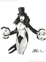 Zatanna by Nick Postic (2009)