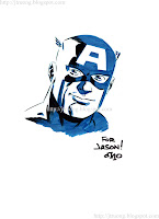 Captain America by Michael Cho (2010)