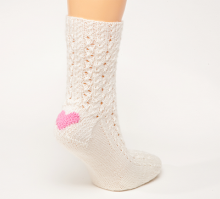 White Clog Sock