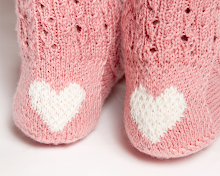 Clog Heart Socks