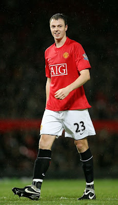 John Evans Man Utd