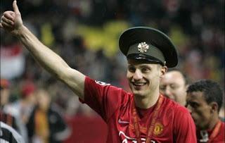 new captain man united, captain man united, vidic captain