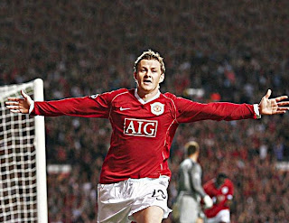 solskjaer, man utd wallpaper, celebration