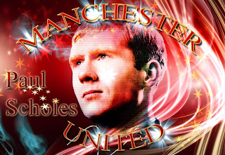 wallpaper paul scholes man utd