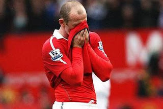 Wayne rooney manchester united wallpaper, Rooney cry
