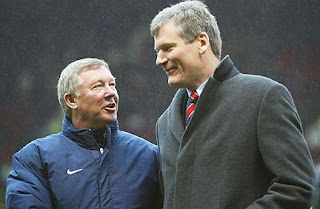 Alex Ferguson, David Gill man utd