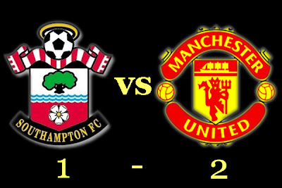 Man utd Result, Southampton vs Manchester United