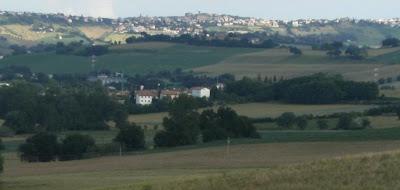 Panorama,Ostra,Veduta da Nord/Ovest