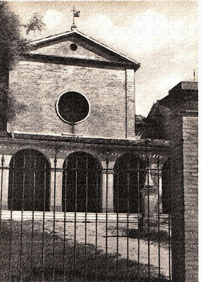 Ostra,anni 50,convento cappuccini