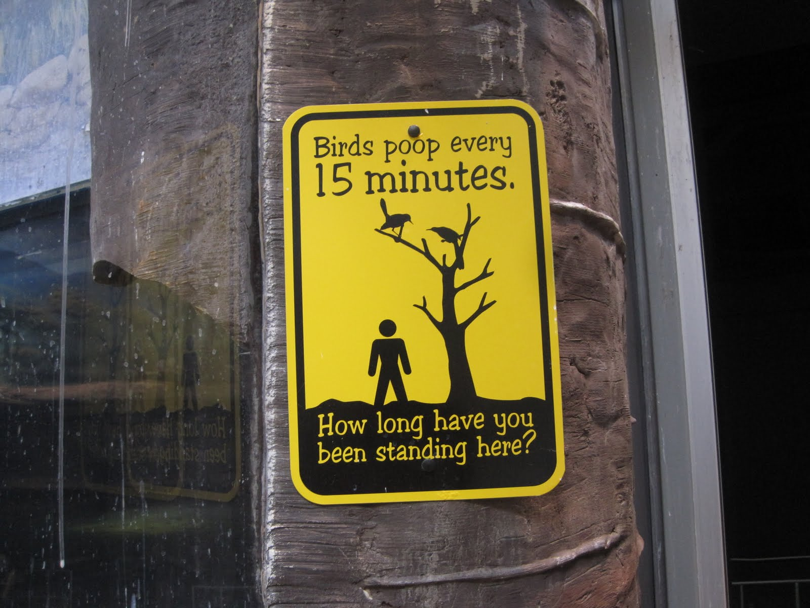 Funny Signs: The Runner Up
