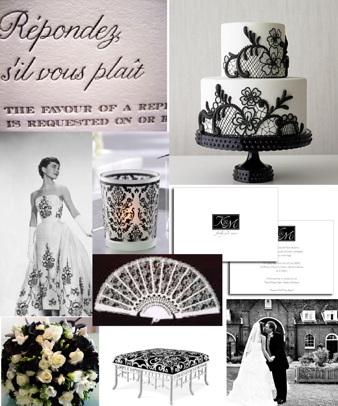 A modern day fairytale...: Black & White with a SPLASH! of pink