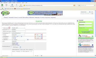 Retpaĝa registrilo ĉe lernu.net (supra parto)