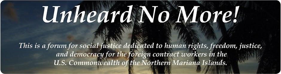 Unheard No More!
