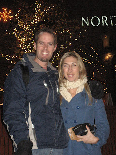 Noah and Lindsey in Pioneer Square