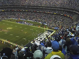 The Chargers have the Titans pinned deep in the 4th Quarter