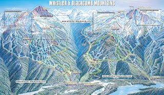 Whistler Blackcomb Trail Map