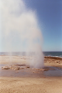The Blowhole Spraying