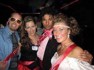 The Duke, Duchesses, Prince & Princess of the 80's Prom.