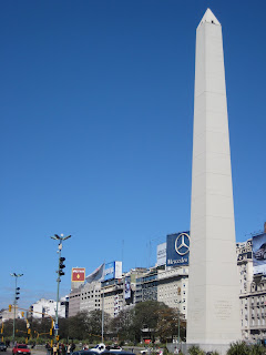 The Washington Monument in Buenos Aires?