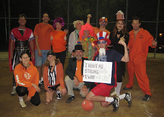 Halloween Kickball Game