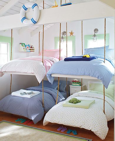 Henley on the horn sleeping porches all of these images and visions have made me long for a sleeping porch or fun bunk room now that we have 4 sleeping beauties and 1 sleeping prince of our solutioingenieria Images