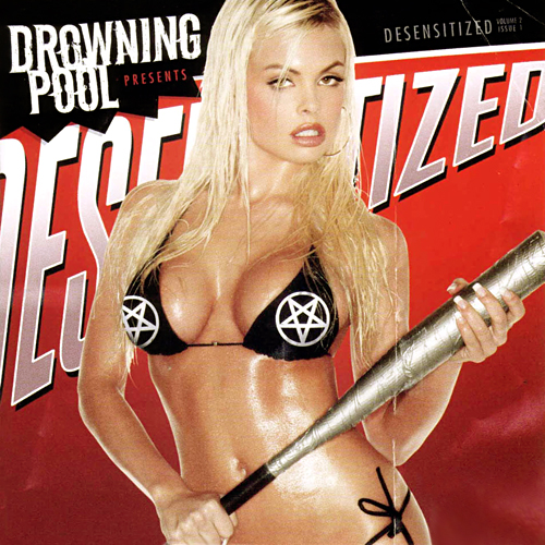 Girl Drowning in Pool Drowning Pool Desensitized