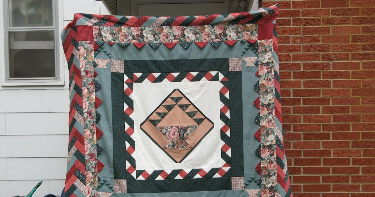 Braided Quilt Border Pattern Home : The Napping Quilter: Braided Border